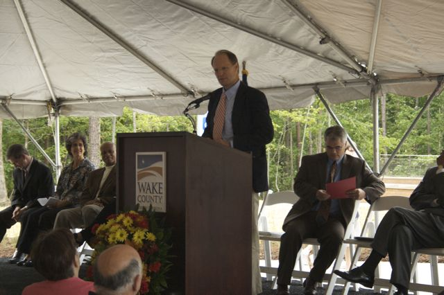 Charles Meeker Speaks at the Opening