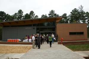 Wake County opened its newest library September 26, 2009.
