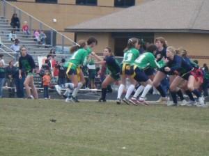 both teams playing - madeline