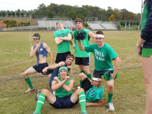 senior cheerleaders - rich