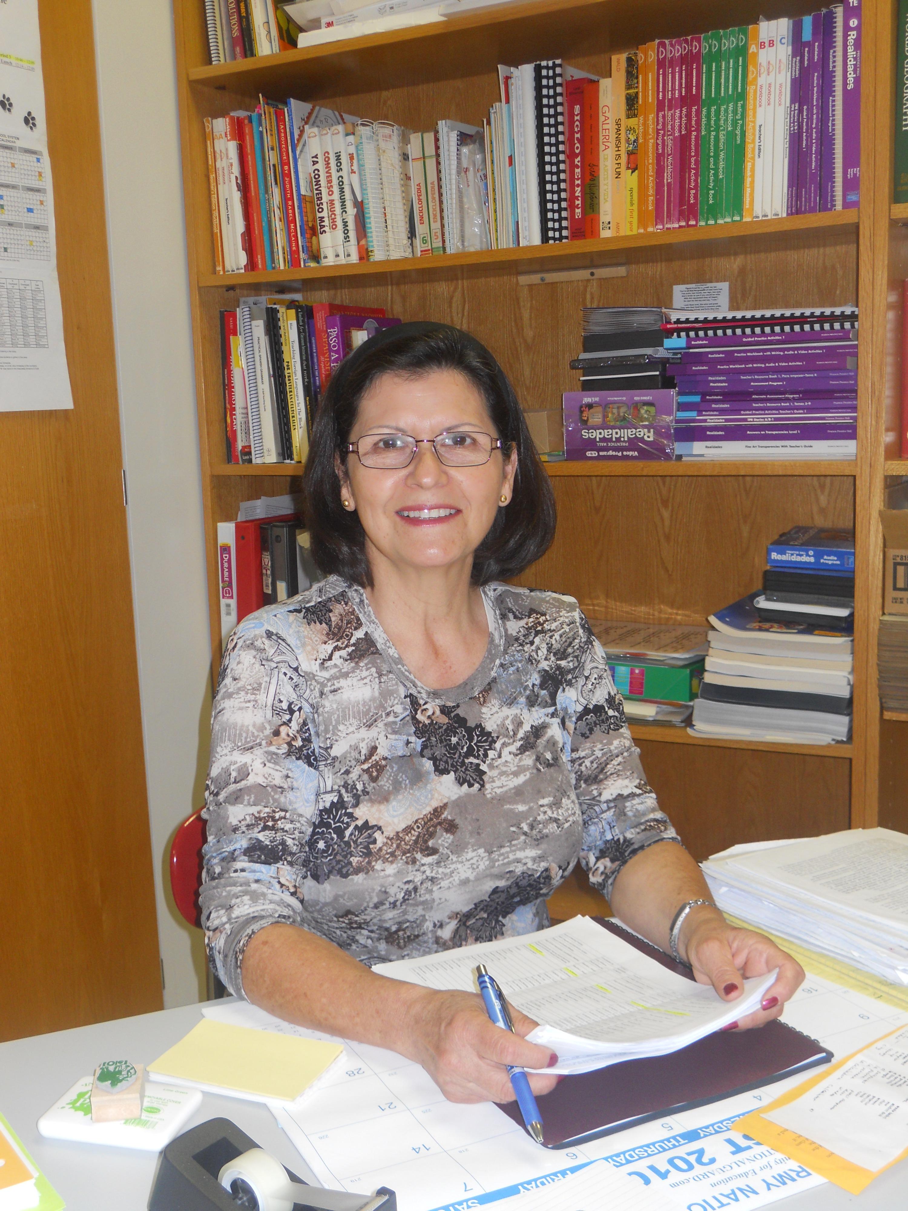 Ms. Nantz, New Spanish Teacher