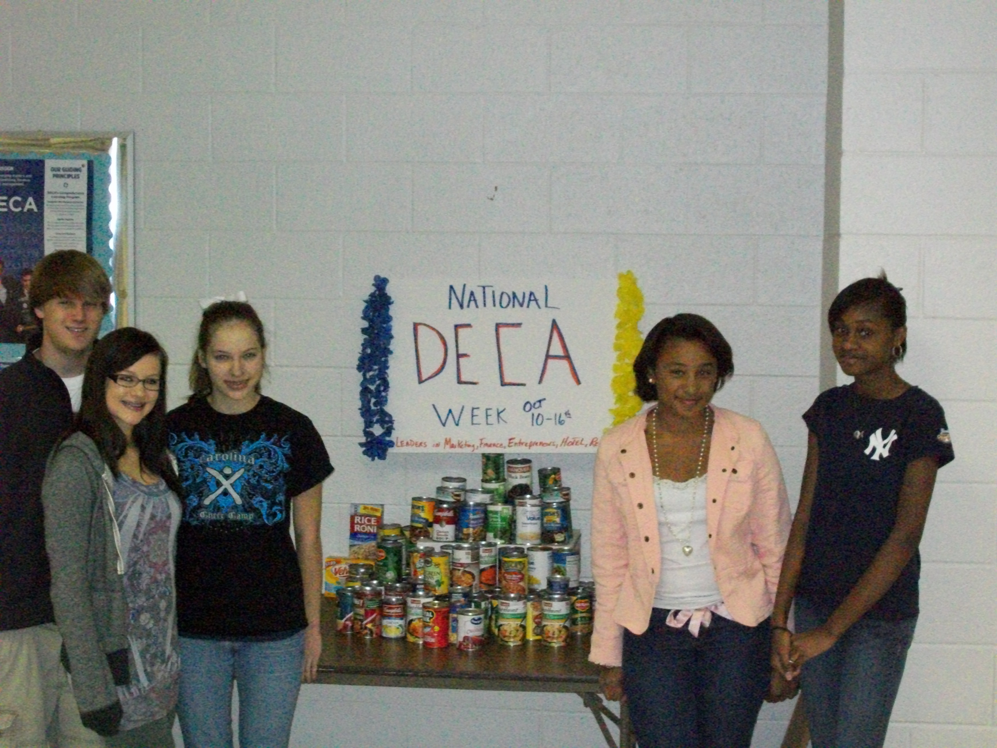Pinkney_DECA canned food drive