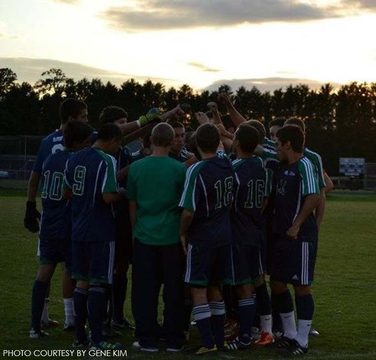 The team reflects on their final game and their season on the whole as the sun sets behind the field.