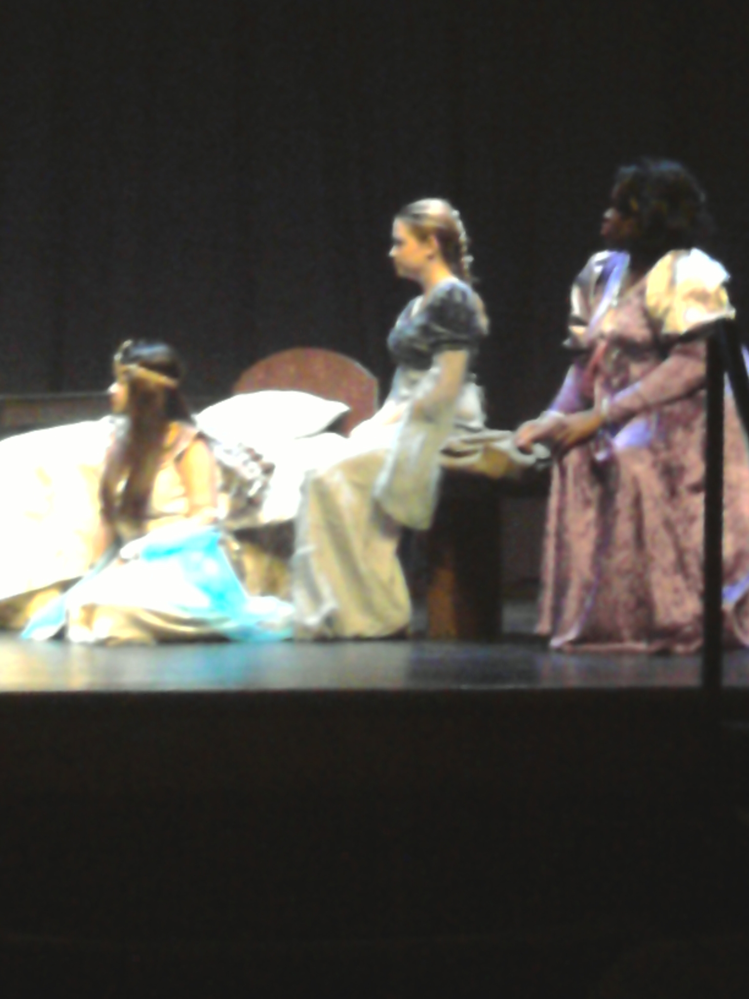 Jenan Fatfat played Cleopatra in While Shakespeare Slept. She also played Mrs. Beaver in the fall play The Lion, The Witch and The Wardrobe.
