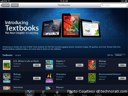 Apple recently introduced a new update for their iBooks app that allows textbooks to be bought and created. This update includes many new features and revolutionizes the textbook industry.