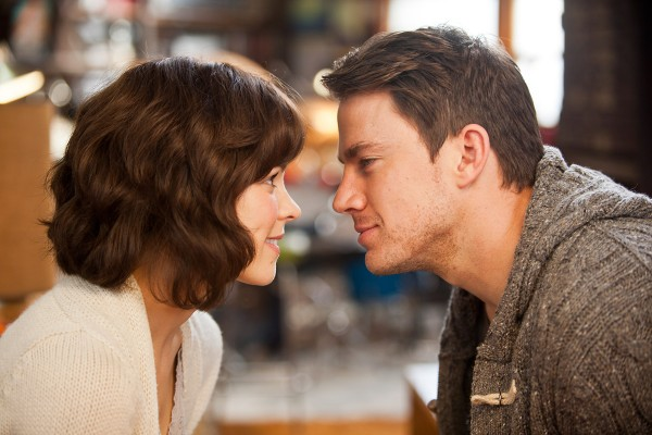 "Rachel McAdams and Channing Tatum star in the chick flick ""The Vow."""