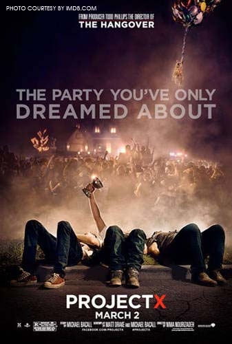 Project X is the party of the year. Directed by Nima Nourizadeh, it is his third movie.