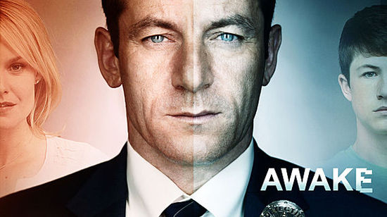 This show features a LAPD detective who lives in two separate realities. NBC's Awake airs on Thursday nights at 10 pm.