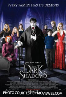 Johnny Depp, pictured, plays Barnabas Collins in Dark Shadows. The movie details the life of Collins, an eighteenth century vampire who awakens in the twentieth century and must learn how to adapt.