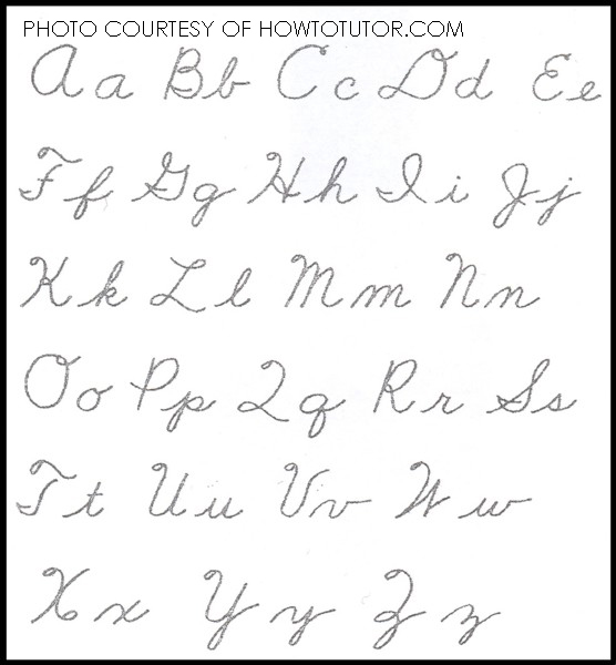 different ways to write words