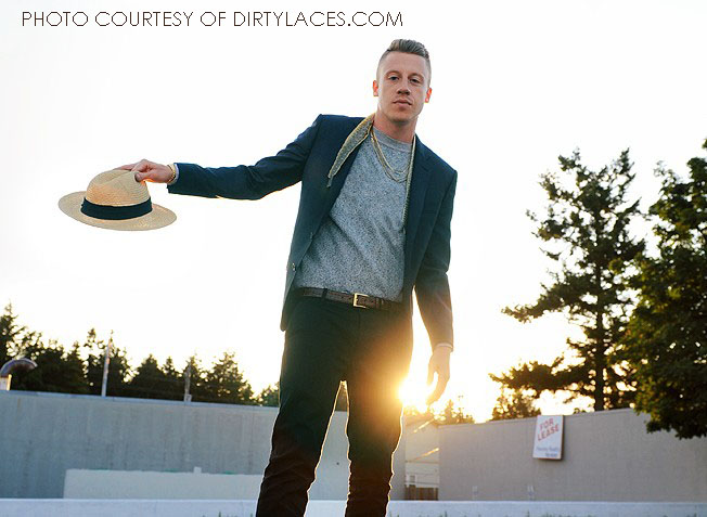 As a white rapper from Seattle, Macklemore is defying the odds in the hip-hop industry. His debut album with producer Ryan Lewis, The Heist, was released in October 2012.