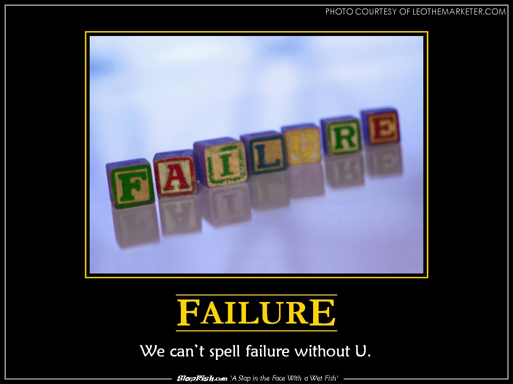 Failure is typically looked down on and seen as embarrassing and upsetting. But failure can actually be good--failure is a great learning experience and is often the key to success.