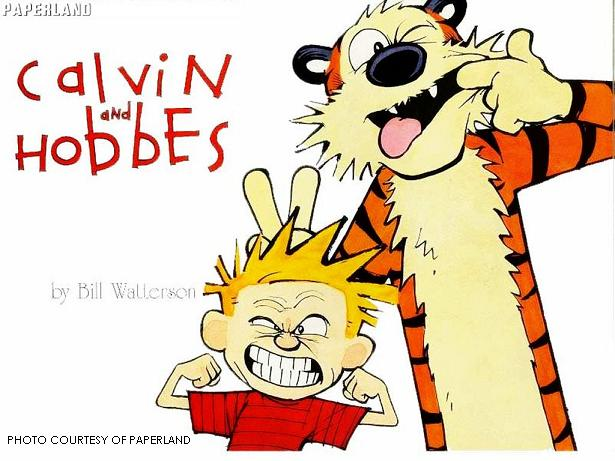 Calvin and Hobbes is a comic about a boy and his stuffed tiger. The constant struggle between simplicity and complexity makes the comic valuable and timeless.