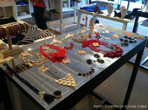 Madison centralizes their jewelry assortment in the store. A new location is opening near Fishbone in North Hills soon.