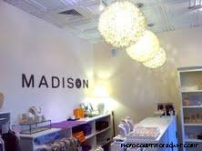 Madison's decor is specifically designed to give off a clean-cut vibe. This theme reflects the inventory.