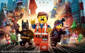 The movie poster for The Lego Movie depicts some of the havoc the characters face. In addition to the all-star voice cast, other popular actors and actresses, such as Channing Tatum and Jonah Hill, make small voice cameos throughout the movie.