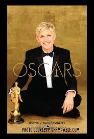 """Ellen is to host the Oscars for the second time. She happily accepted, tweeting, """"I'd like to thank The Academy. Seriously. Thank you."""""""
