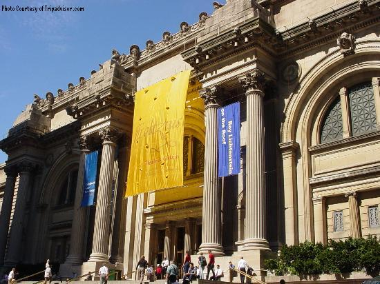 The metropolitan museum of art in New York City is one of the most famous museums in  the United States. With several exhibits and collections, you can explore an array global cultures at your own pace.