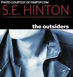 A paperback copy of the book. Many copies of The Outsiders are still printed today. (Photo Credit Barnesandnoble.com)