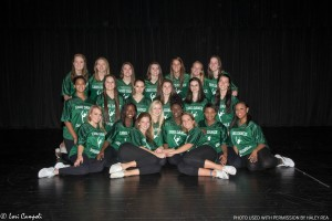 The Leesville Dance Ensemble works together as team to prepare for their upcoming performance at the Homecoming pep rally. They look forward to future performances, hoping to leave their audience in awe.