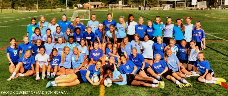 CASL teams wore blue in remembrance of Laura Yost last week. Players from all different age groups participated.