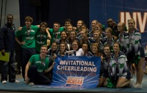 The Leesville Varsity Co-ed cheerleading team traveled to the Raleigh Convention Center on Saturday for the NCHSAA Cheerleading State Championship competition. Their hard work paid off as they took home the first place trophy.