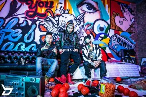 """Don Mills, Zico and Jay Park take on a """"hardcore"""" look for Zico's new single 'Tough Cookie.' International netizens quickly took offense to the lyrics and overall appearance of the song and video."""