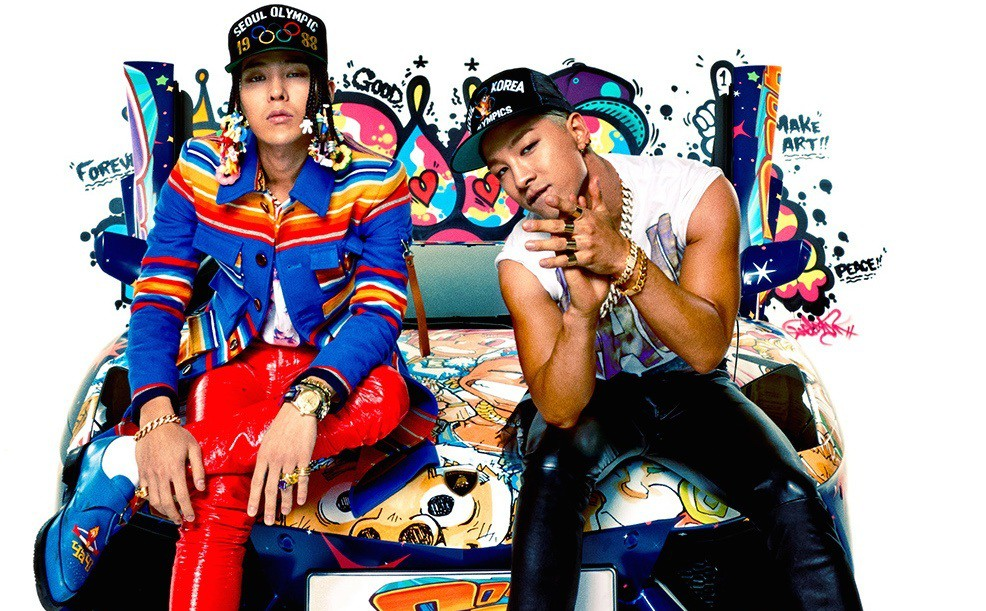 G-Dragon and Taeyang take on the EDM genre in their new song 'Good Boy.' The music video has already surpassed 5 million views.