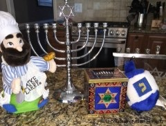 The Jewish holiday Hanukkah is one of the many holidays celebrated during this month. Hanukkah began on December 16 and lasts for 8 days with the lighting of the menorah each night.