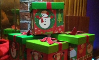 The Spanish department at Leesville adopted 6 children this year for the holiday season. Students are encouraged to donate money, toys and clothes to provide a Christmas for the children.