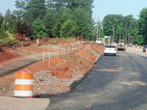 Construction started in March of 2014 on the new project. The completion date is still slated for September of 2015.