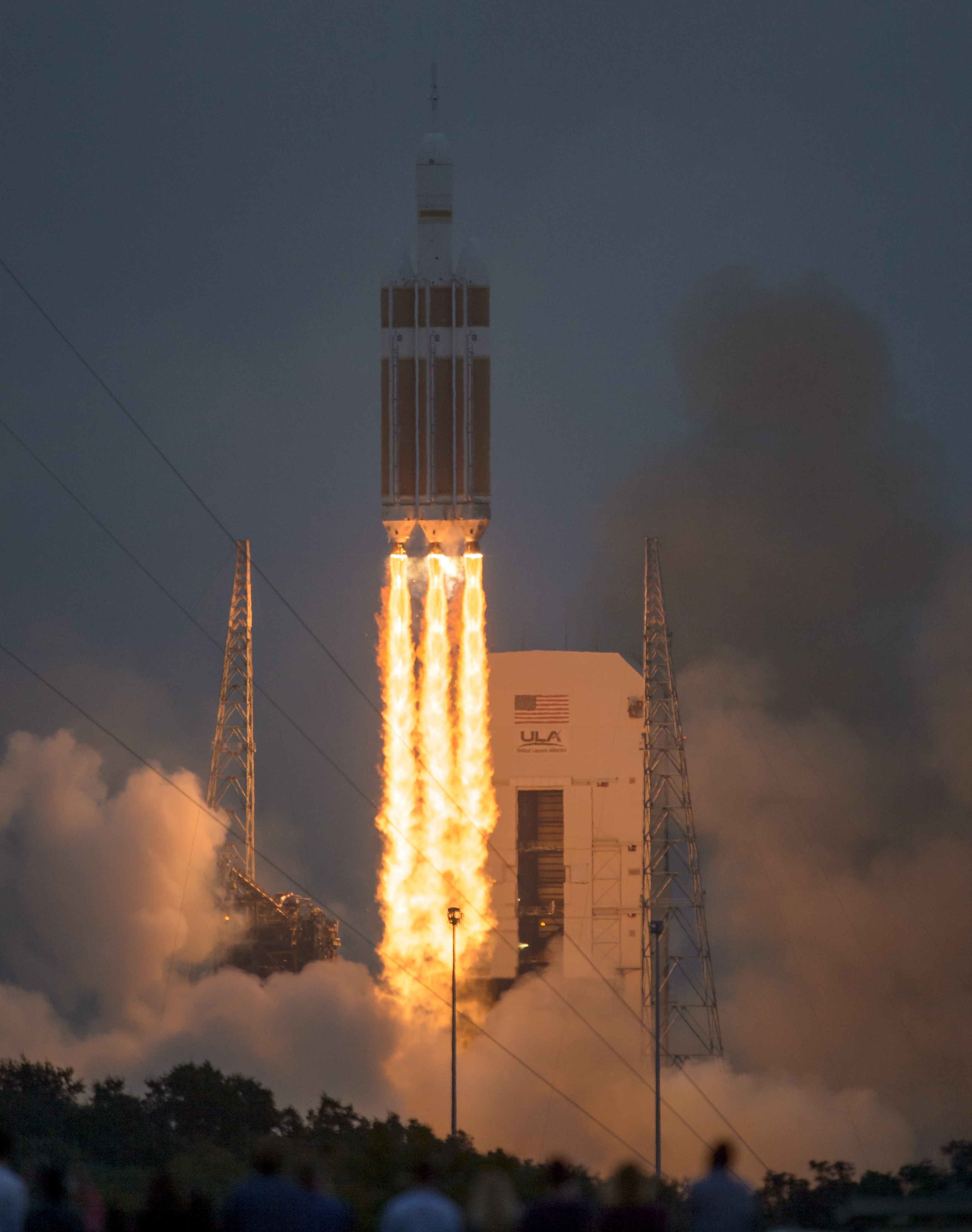 Orion's first test launch at the Kennedy Space Center on Friday. After several delays on Thursday, the launch was rescheduled and successfully took off the following day.