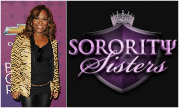 "Mona Scott-Young, producer of several VH1 television shows, stands beside her newest show ""Sorority Sisters."" The show follows the lives of several Atlanta based women as they represent their respective sorority."
