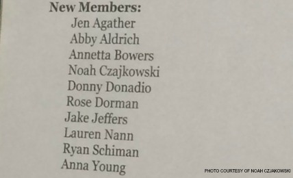 Auditions for the honors theatre class, also known as Main Stage, were held this past week. The list of names of members for the 2015-2016 school year was posted a few hours after auditions were complete.