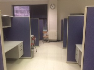 Cubicles are a key feature that caters to the 'office job's' reputation. However, extroverts tend to appreciate the concept, enjoying the ability to hold spontaneous conversations and recharge through socialization.