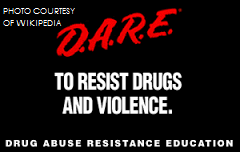 Drug Abuse Resistance Education, DARE, teaches students the risk of prescription and recreational drugs. Instructors of the program are local police officers.