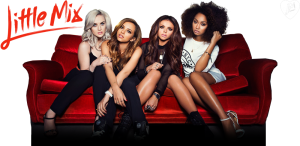 left to right) Perrie Edwards, Jade Thirwall, Jesy Nelson and Leigh-Anne Pinnock make up the group, Little Mix. They were formed in 2011 after winning X-Factor UK.