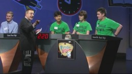 Leesville Road contestants compete in the Brain Games in 2014. Leesville Road has a club devoted to this competition each year.