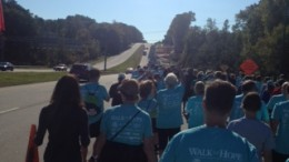 The walk for Hope was held this year on October 11th. With nothing but sunny skies and great people, the event proved to be a an enjoyable experience for all who attended. (Photo Courtesy Amy Werner.)