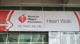 The American Heart Association's Heart Walk was Sunday, September 27 at the PNC Arena. The Heart Walk is dedicated to raising funds for cardiovascular disease.