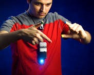 Pravan Mistry demonstrates his SixthSense Device. Photo courtesy of wikipedia