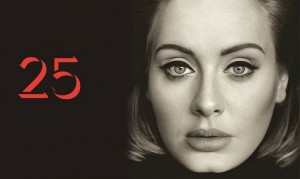Of the three reviewed albums, Adele's album, 25, was the only one to receive 5/5 stars. Photo courtesy: Thirtyseventh