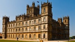 Downton Abbey's iconic house, actually called Highclere Castle. The series is entering its final season.