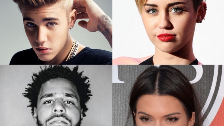 Take this quiz to determine which celebrity you are most similar to! The celebrities include Justin Bieber, Kendall Jenner, J Cole, and Miley Cyrus.