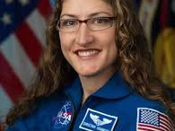 (Photo Courtesy of the Johnson Space Center)  Christina Koch is an astronaut from North Carolina who is part of NASA's 2013 class of astronauts. Her speech illustrated her journey to becoming an astronaut.