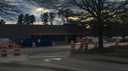 Construction on Strickland Road has been underway for several months. Expansion of the roads will help relieve the congestion three drugstores could cause on an already congested road.