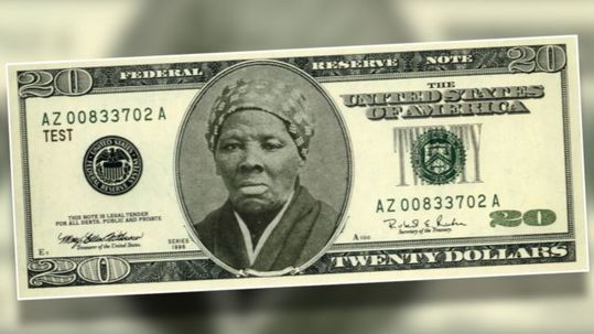 On April 20, Treasury Secretary Lew announced that Harriet Tubman would replace ex-president Andrew Jackson as the face of the $20 bill. Above is one of many proposed redesigns of the bill.