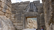 """The Lion Gate at Mycenae stands for strength and unity. While the newspaper was named """"the Mycenaean"""" by chance, there are many connections between the ancient city and Leesville."""
