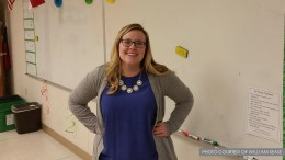 Ms. Bryant, a mathematics teacher at Leesville. Her teaching style is based on principles of openness and freedom.