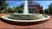 The fountain on the campus of East Carolina University. ECU is one of the 16 state supported universities, and many Wake County students apply there. Photo Courtesy: Best Colleges